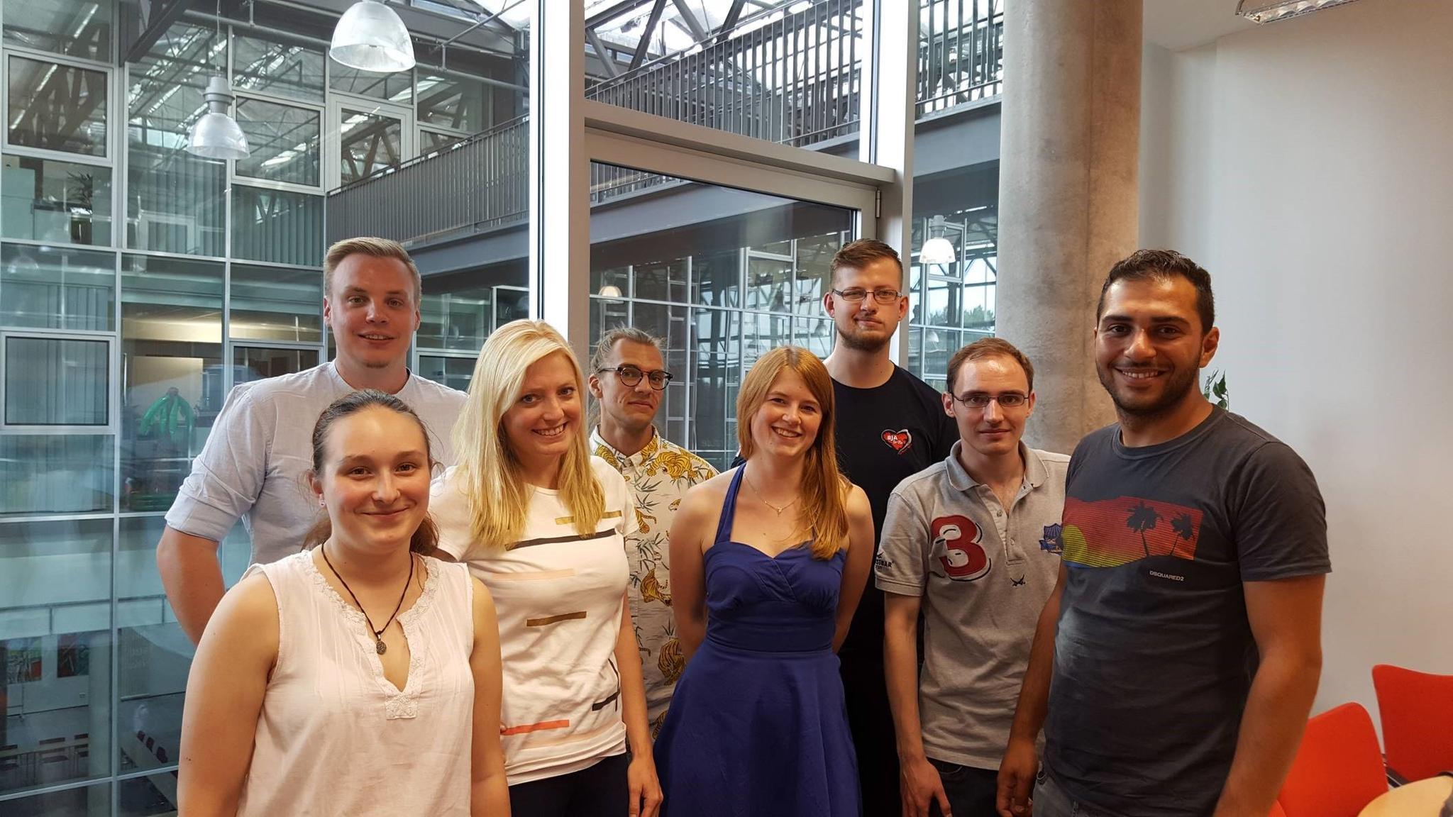 Mitglieder des DGB-Stadtjugendausschusses Bochum