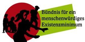 Logo Bündnis für ein menschenwürdiges Existenzminimum