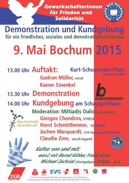 9. Mai in Bochum