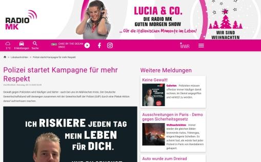 Link zu Radio MK